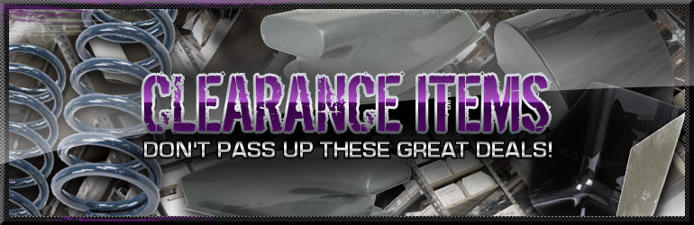 Tim McAmis Performance Parts Clearance Items