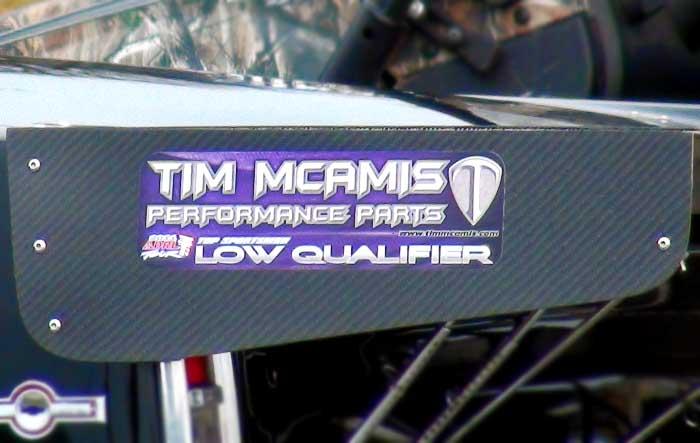 Tim McAmis Low Qualifier Award