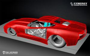 C7, Pro Mod Body, CAD design