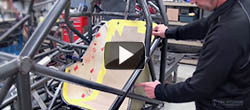 How to mount a carbon fiber seat