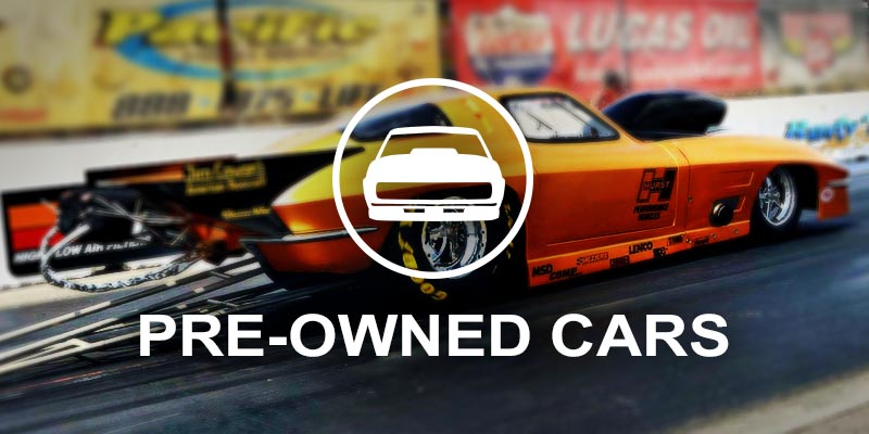 Pre-Owned Drag Racing Vehicles