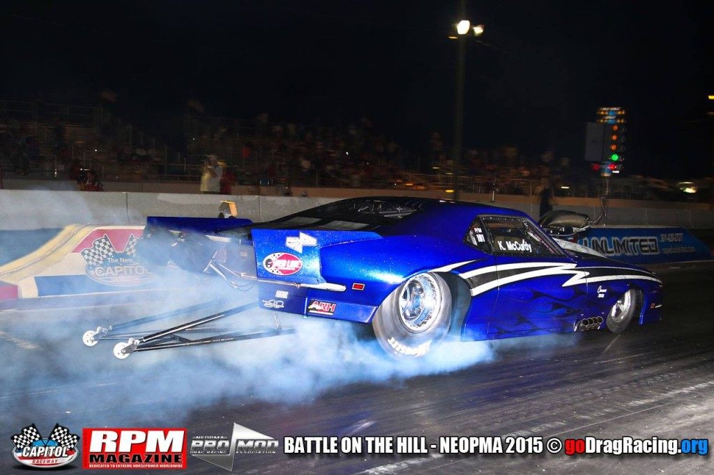 Kevin McCurdy North East Outlaw Pro Mod