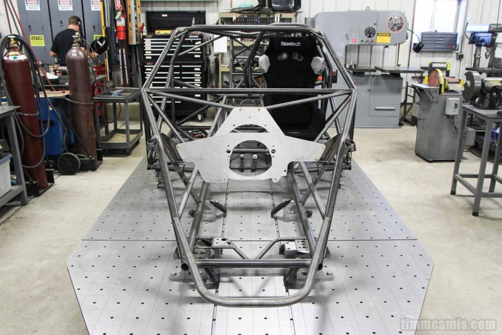 new 1968 v4 camaro welded chassis components