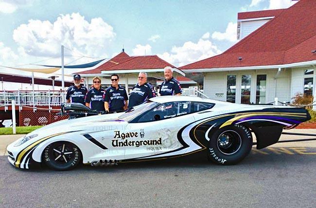 Danny Rowe Corvette 2015